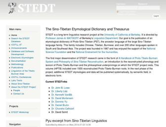 stedt.berkeley.edu screenshot