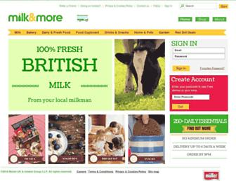Fullscreen thumbnail of milkandmore.co.uk