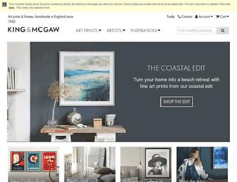 kingandmcgaw.com screenshot