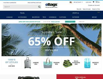 Thumbshot of Ebags.com