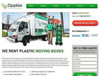zippgo.com screenshot
