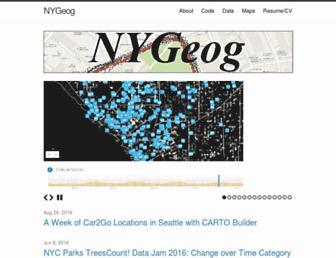 nygeog.com screenshot