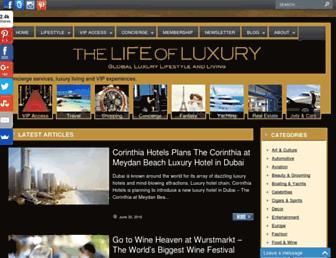 Thumbshot of Thelifeofluxury.com