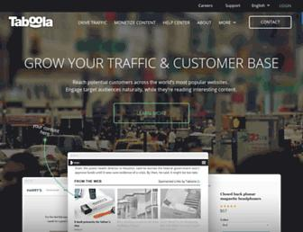 Thumbshot of Taboola.com