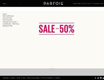 Thumbshot of Parfois.com