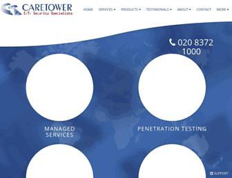 caretower.com screenshot
