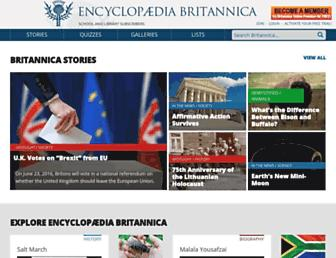 britannica.com screenshot