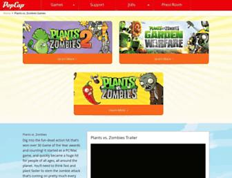Thumbshot of Plantsvszombies.com