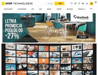 technologie.onet.pl screenshot