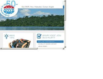 Main page screenshot of anvr.nl