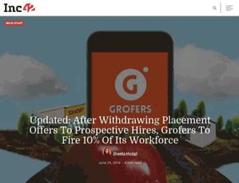 inc42.com screenshot