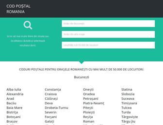 codpostal.info screenshot