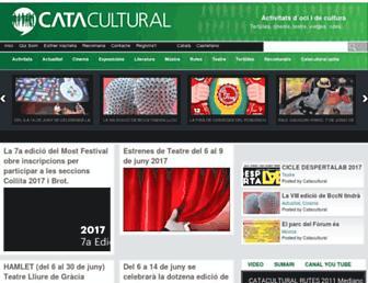 catacultural.com screenshot