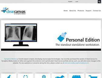clearcanvas.ca screenshot