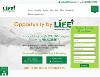 lifescc.com screenshot