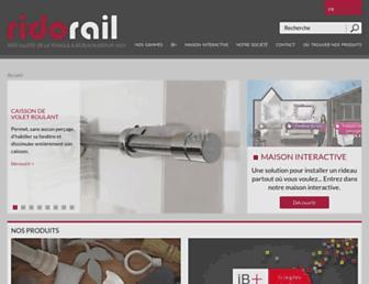 ridorail.com screenshot