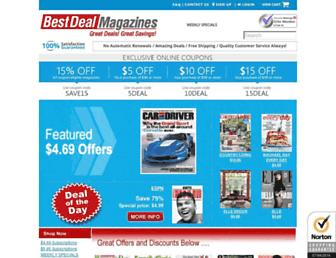 Thumbshot of Bestdealmagazines.com