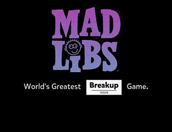 madlibs.com screenshot