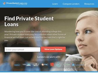Thumbshot of Privatestudentloans.com