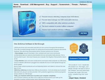 usbantivirus.net screenshot
