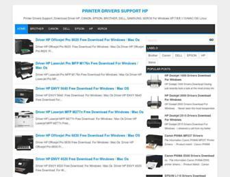 hprinterdriver.blogspot.com screenshot
