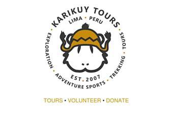 Main page screenshot of karikuy.org
