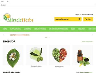 Thumbshot of Miracleherb.com