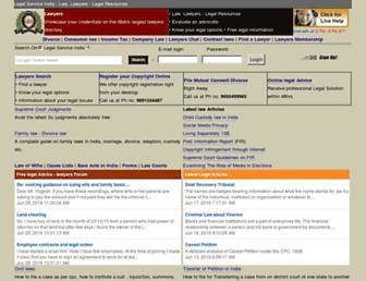 Thumbshot of Legalserviceindia.com
