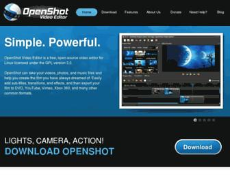 Thumbshot of Openshot.org