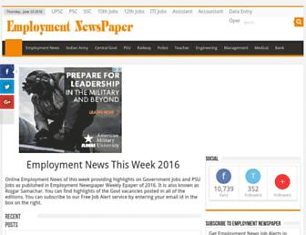 employment-newspaper.com screenshot
