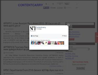 contentcarry.com screenshot