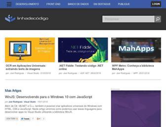 linhadecodigo.com.br screenshot