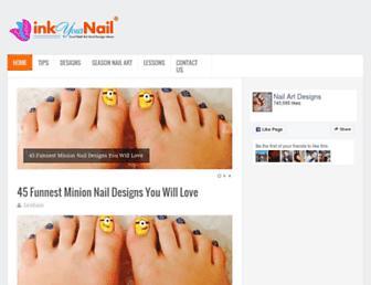 inkyournail.com screenshot