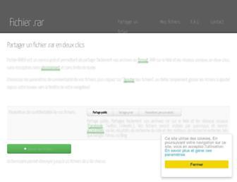 fichier-rar.fr screenshot