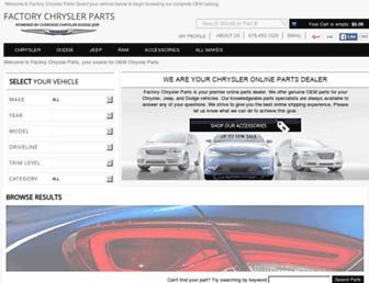 Thumbshot of Factorychryslerparts.com