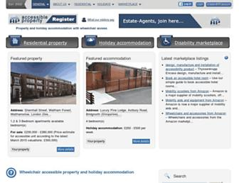 accessible-property.org.uk screenshot