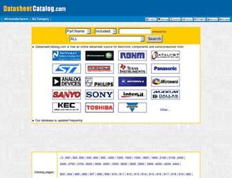 datasheetcatalog.com screenshot