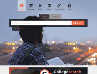 collegesearch.in screenshot