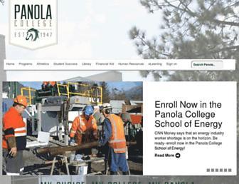 Thumbshot of Panola.edu