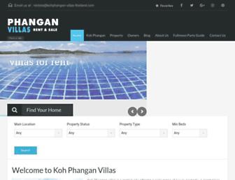 Thumbshot of Kohphangan-villas-thailand.com