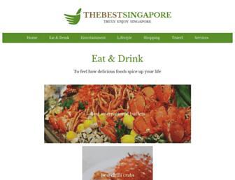 thebestsingapore.com screenshot