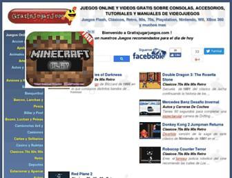 gratisjugarjuegos.com screenshot