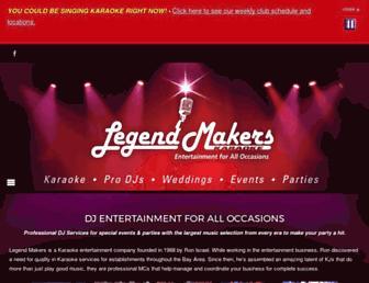 legendmakers.com screenshot