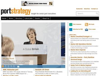 portstrategy.com screenshot
