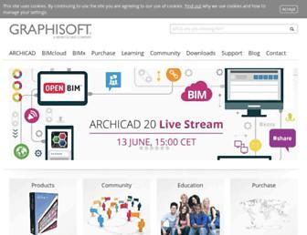 graphisoft.com screenshot