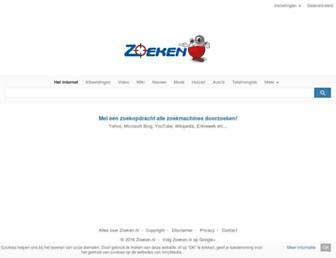 Thumbshot of Zoeken.nl