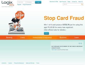 Thumbshot of Logixbanking.com