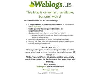 Main page screenshot of bighoopearrings.weblogs.us