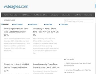 w3eagles.com screenshot
