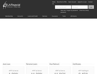 lafinancial.org screenshot